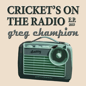 Cricket's On The Radio (CD)