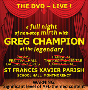 THE DVD – Live!