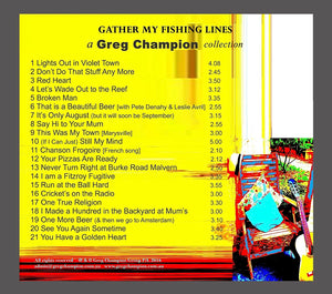 Gather My Fishing Lines (CD)