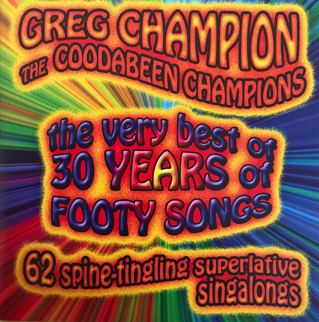 Coodabeen Champions - The Very Best Of 30 Years Of Footy Songs (CD)