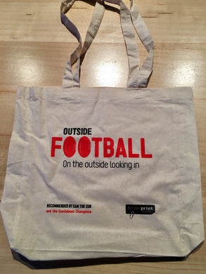 Coodabeen Champions 'Outside Football' Tote Bag