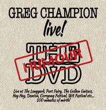 Greg Champion Live: The (Humour) DVD