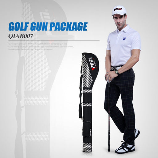 2018 New PGM Brand Golf Gun Bags For Outdoor Nylon Golf Travel Bag Golf Club Equipments Accessories