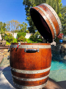 Big Dawg Smokers Handcrafted Wine Barrel Smoker