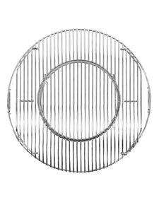 Hinged BBQ Grill Grate With Removable Center (Replacement Part)