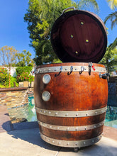 Load image into Gallery viewer, Big Dawg Smokers Handcrafted Wine Barrel Smoker