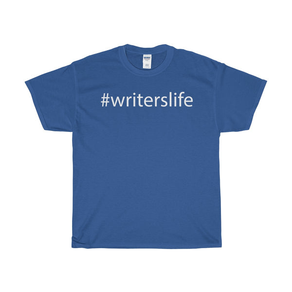 Unisex Cotton Writer's Life Tee | Various Colors