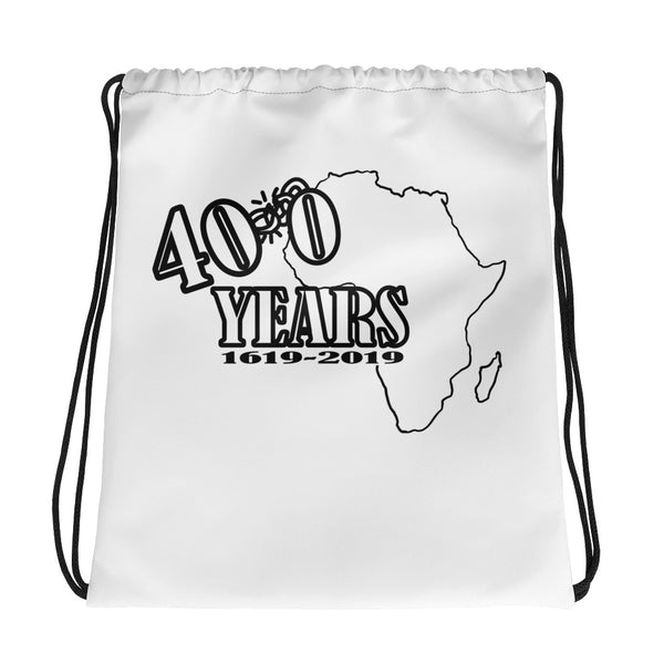400 Years Commemorative Drawstring bag