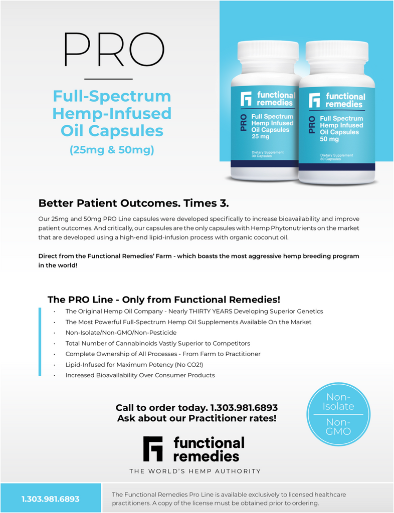 Functional Remedies Pro Line Capsules