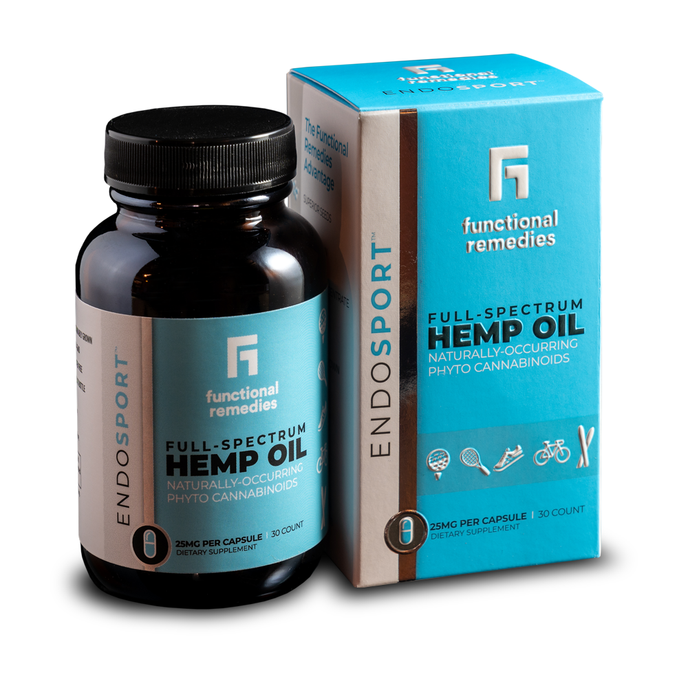 EndoSport Hemp Capsules 25MG