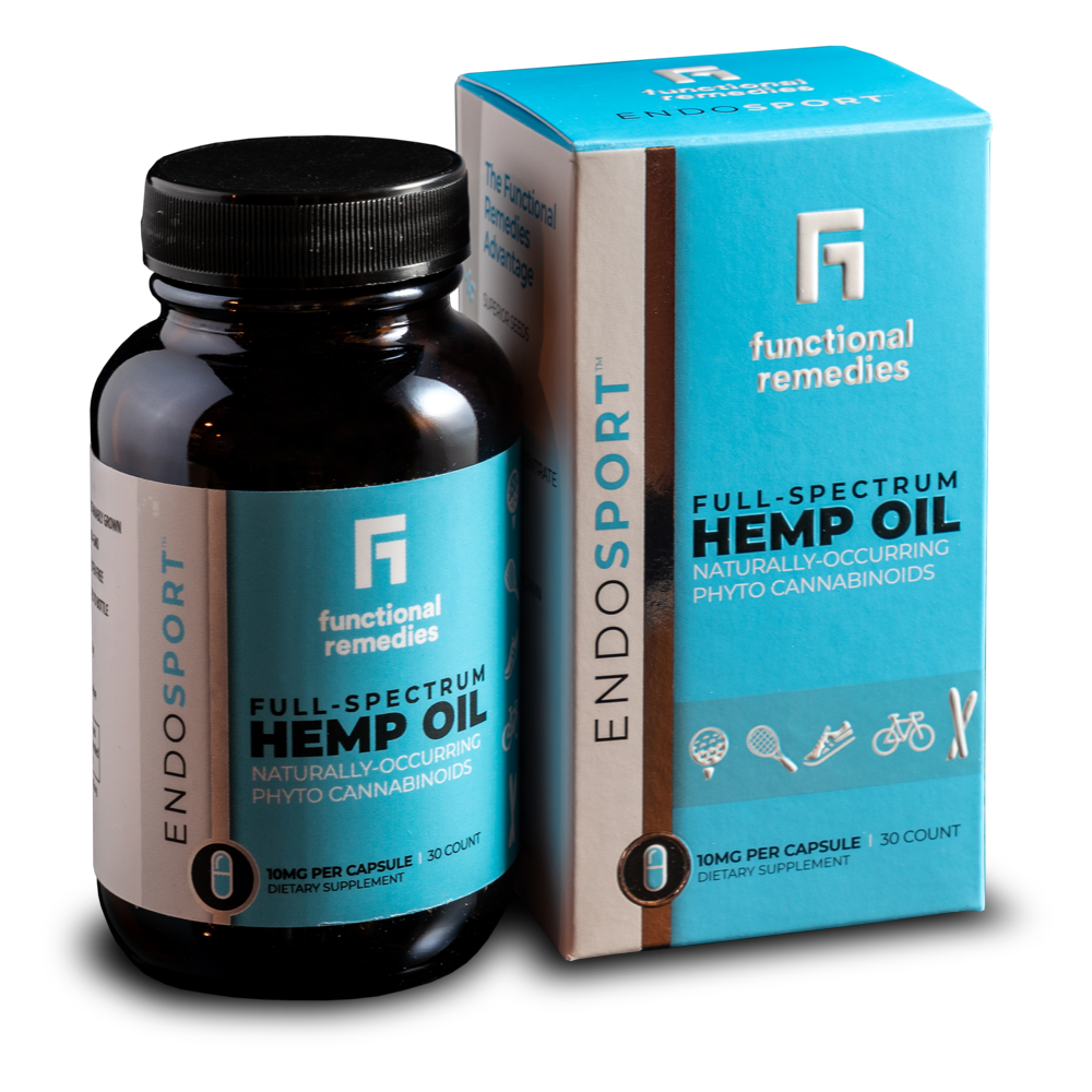 EndoSport Hemp Capsules 10MG