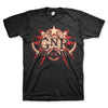 Guns N' Roses Globe - Mens Black T-Shirt