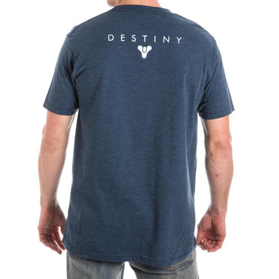 Destiny Moon Luna Men's Blue T-Shirt Tee Shirt