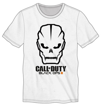 Call Of Duty Black Ops 3 Men's White T-Shirt Tee Shirt