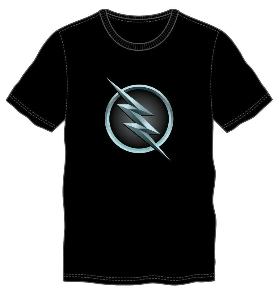 DC Comics Reverse Flash Logo Men's Black T-Shirt