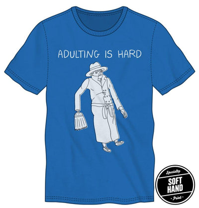BoJack Horseman Vincent Adultman Adulting Is Hard Specialty Soft Hand Print Shirt