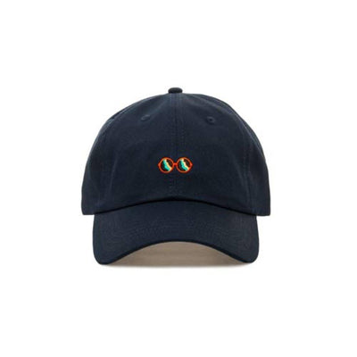 Embroidered Premium Glasses Dad Hat - Baseball Cap with Adjustable Closure