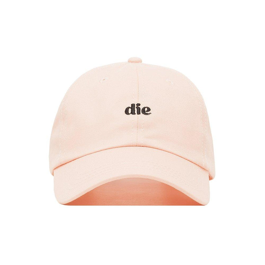 Premium Embroidered Pink die Hat - Baseball Cap with Adjustable Closure