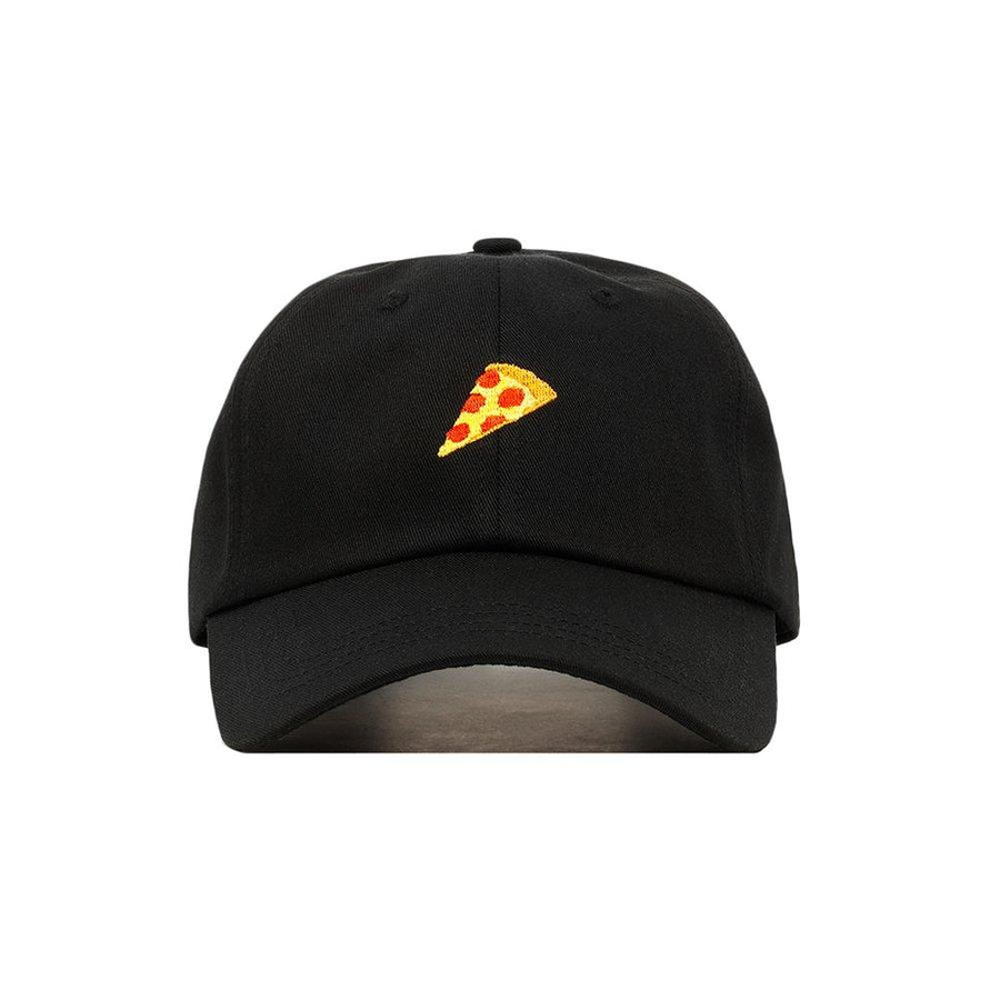 Premium Embroidered Pepperoni Pizza Hat - Baseball Cap with Adjustable Closure