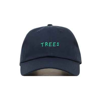 Embroidered Trees Dad Hat - Baseball Cap / Baseball Hat