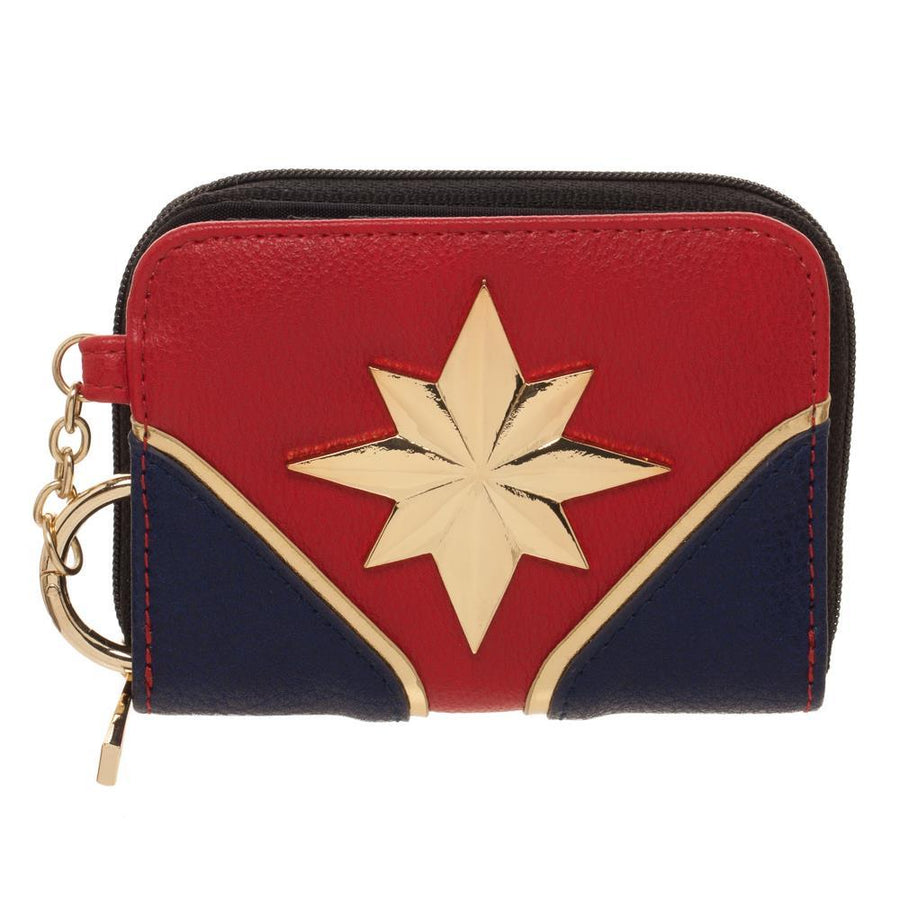 Captain marvel Wallet Marvel Gift for Girls - Marvel Wallet Captain Marvel - Marvel Comic Wallet
