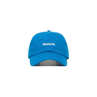 Embroidered Meh Life Dad Hat - Baseball Cap / Baseball Hat