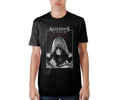 Assassin's Creed Syndicate Poster Black T-Shirt