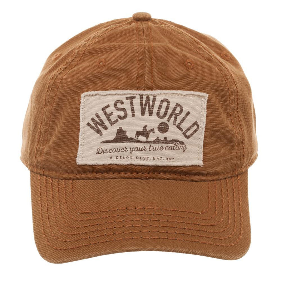 Westworld Printed Patch Adjustable Cap