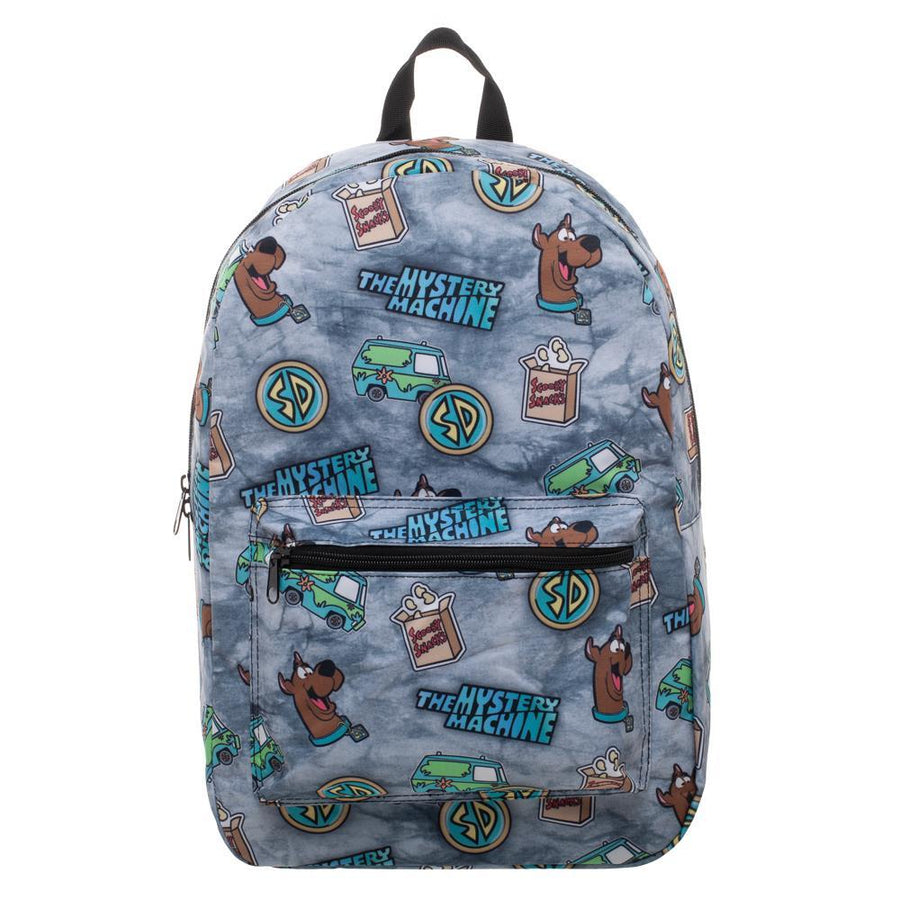 Scooby Doo Backpack Mystery Machine Bag - Scooby Doo Gift Mystery Machine Backpack Sublimated Backpack