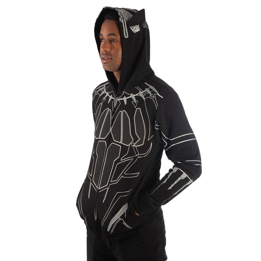 Black Panther Cosplay Black Panther Hoodie Black Panther Apparel - Black Panther Clothing Black Panher Gift