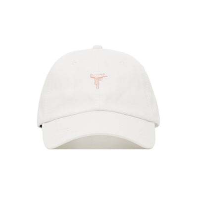 Embroidered Uzi Dad Hat - Baseball Cap / Baseball Hat