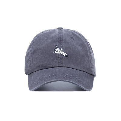 Comfortable Embroidered Slastonomy Space Ship Dad Hat - Baseball Cap / Baseball Hat
