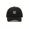 Comfortable Good Vibes Dad Hat - Baseball Cap / Baseball Hat