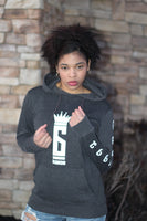 Six Rings Women's Logo Pullover Hoodie - Charcoal