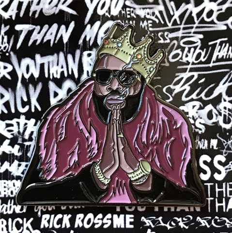 Rick Ross Rather You Than Me Pin
