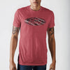 Ford Americana Red Heather T-Shirt