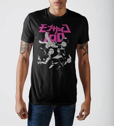 Mob Psycho 100 Key Art Crew T-Shirt