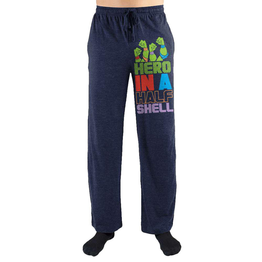 Teenage Mutant Ninja Turtles TMNT Hero In A Half Shell Print Men's Loungewear Lounge Pants