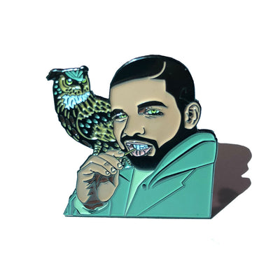 Looking For Revenge Drake Pin