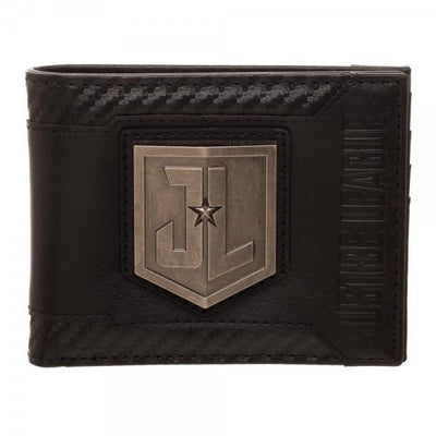 Justice League Movie Black Bi-Fold Wallet