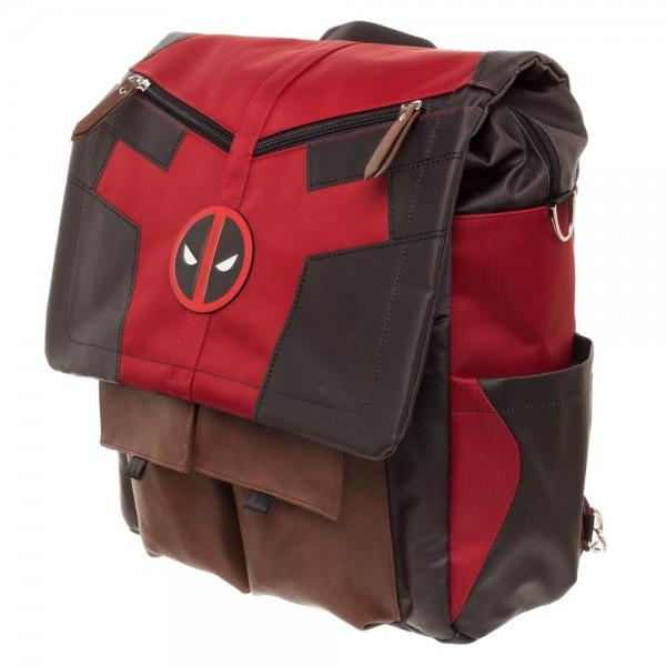 Marvel Deadpool Costume Inspired Utility Bag
