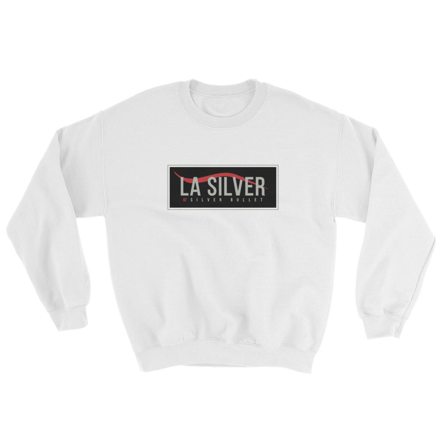 Six Rings Men's Air Max 97 Silver Bullet LA Silver Sweatshirt
