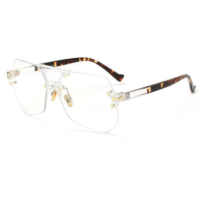 KickBackz Women's Rimless Frame Glasses