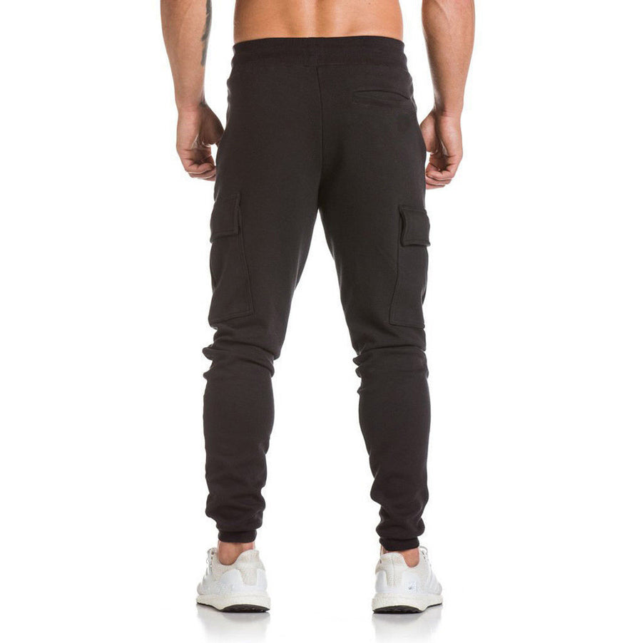 KickBackz Men's Casual Joggers Black