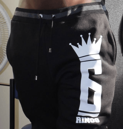 Six Rings Logo Joggers - Black