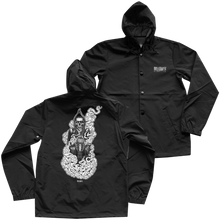 Load image into Gallery viewer, 'Atacama Reaper' Hooded Windbreaker (Black)