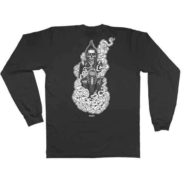 'Atacama Reaper' Long Sleeve T-Shirt (Black)