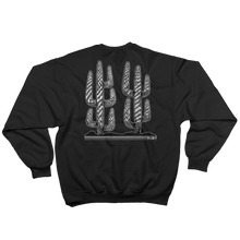 Load image into Gallery viewer, 'Lonely Saguaro' Crewneck Sweatshirt (Black)