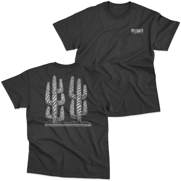 'Lonely Saguaro' T-Shirt (Black)