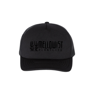 'Plantlife' Trucker Hat (Black)